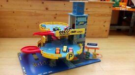 Child's toy garage (wooden)