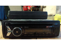 Sony car cd player with USB and bluetooth
