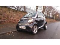Smart Car convertible cabriolet Very Low Mileage