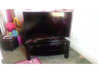 "Samsung 48"" LED Smart full HD TV with Black Glass stand"