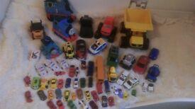 BIG BUNDLE OF CARS