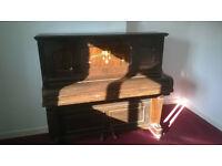 Floemur Upright Overstrung Iron Grand Piano