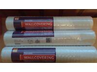 3 rolls wallpaper