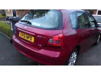 2001 Honda Civic 1.6 petrol 5door