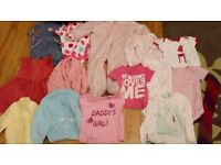 Bundle of girls clothes age 9-12months