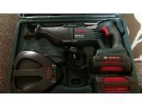 Bosch 36 volt reciprocating saw