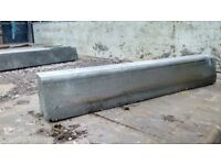 Concrete kerb setts and industrial manholes/drainage pipes