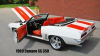 1969 CAMARO CONVERTIBLE SS / RS   ~~~ LIVE VIDEO ~~~~~