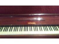 Mendel piano. £60 ono