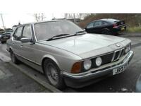 Bmw e23 728i low miles project
