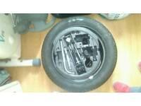 Brand new spare wheel with brand new pirelli tyre