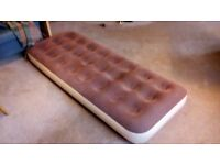 Single Airbed - Brown.