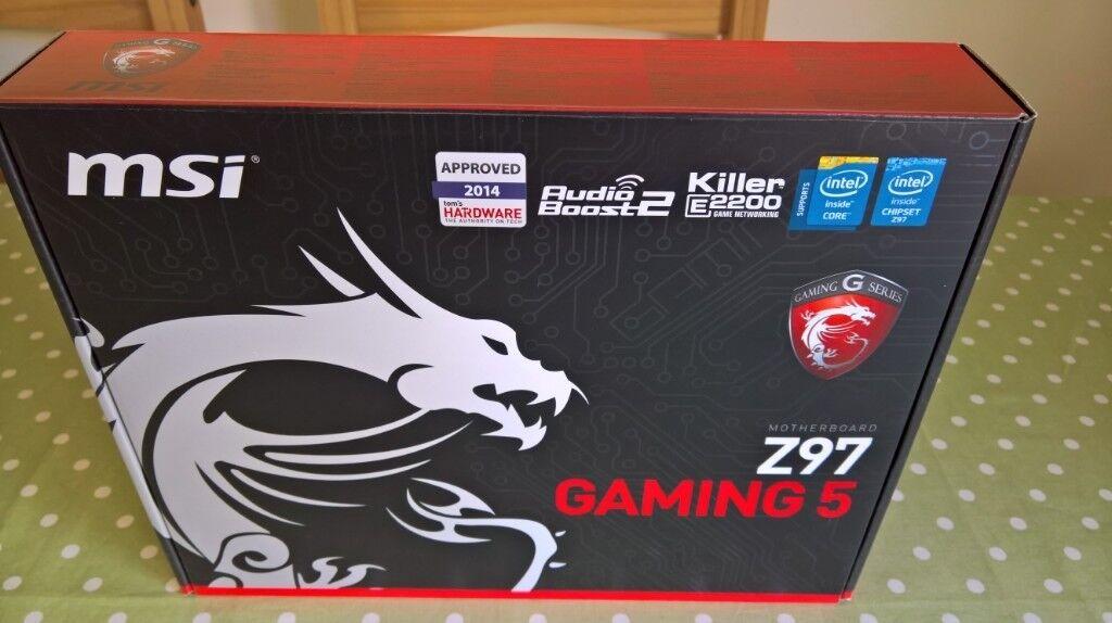 Motherboard - MSI Z97 GAMING 5 - LGA 1150 | in Pontnewynydd, Torfaen |  Gumtree