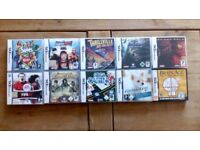 10 GAMES FOR DS NINTENDO