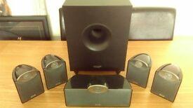 Sony Multi Channel AV Receiver STR DN 610 & Tannoy SFX 5.1 Speaker System with Powered Subwoofer