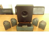 Sony Multi Channel AV Receiver STR DN 610 & Tannoy SFX 5.1 Speaker System with Powered Subwoofer