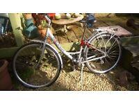 Raleigh Pioneer Metro LX Bike 21 Speed Back Bracket, Stand 28 Inch Wheel Adjustable Seat £100 ONO