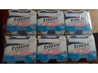 24 x Ensure compact drinks strawberry flavour