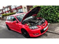 2006 Mazda 3 MPS 2.3 Turbo Modified RED, full service history
