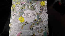 The Magical City Colouring book. New
