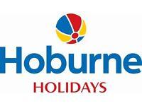 Caravan Sales Team required at Hoburne Naish Holiday Park