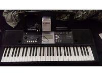 YAMAHA YPT-230 Full Size Electronic Keyboard