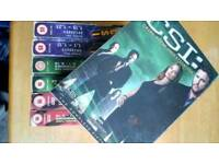Joblot box set s,csi,