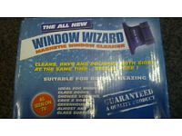 Window wizard magnetic window cleaner Red (new/in box)