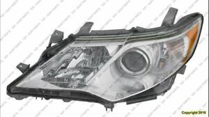 Head Light Driver Side L/Le/Xle/Hybrid High Quality Toyota Camry 2012-2014