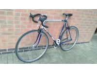 Raleigh Single Speed or fixie - light weight Bike - Upgraded Sram Apex Brakes, 700 / 32c Tyres