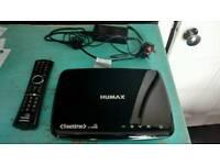 Humax HDR freesat 1100s 500gb set top box