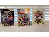 Selection of WII games from a smoke free pet free home excellent condition