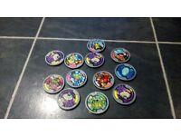 Yokai Medals x 12 collectables for Yokai watch