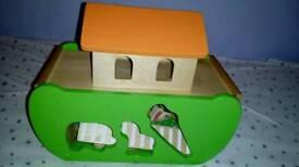 Noah's Ark Animals slot boat