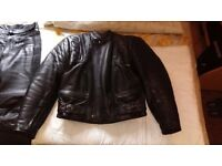 BUFFALO LEATHER SUIT -- MOTORCYCLE
