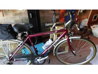 Mens Hybrid Raleigh Pioneer Bike Dry stored in excellent condition