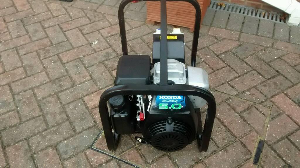 Honda Gc160 5hp Genuine Generator Generac 110 And