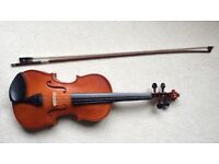 Stentor Student II violin outfit with case and bow