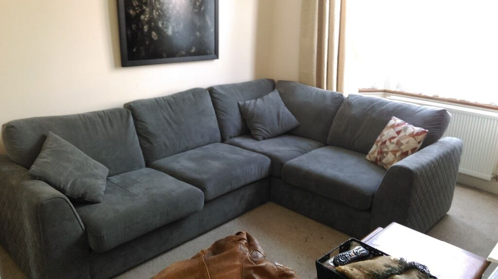 Dfs Corner Sofa Bed Eleanor 12 Months Old In Perfect