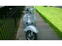 Vespa px125 touring 65plate