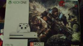 Xbox one s 1tb 40 games on account