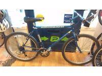 """Blue GS Ridgeback mountain bike cro-mo frame size 21""""bicycle mens"""