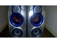 Aiwa subwoofer speakers