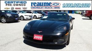 2009 Chevrolet Corvette 4LT Bose 19 Blacked Out Rims Auto