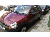RED FORD KA BRILLIANT RUNNER