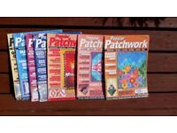 Selection of Popular Patchwork magazines