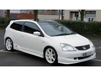2002 Honda Civic EP3 Type R - HPI CLEAR - Championship White