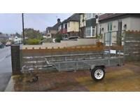 Galvanised trailer good condition