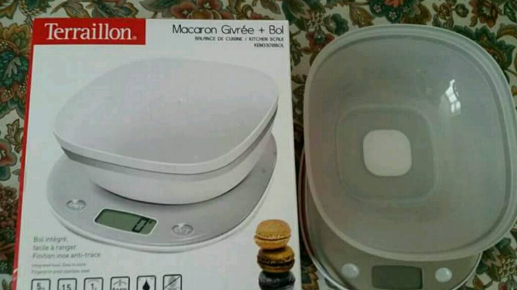 Brand new boxed electronic kitchen scales
