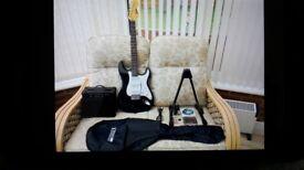 Encore Electric guitar package unused